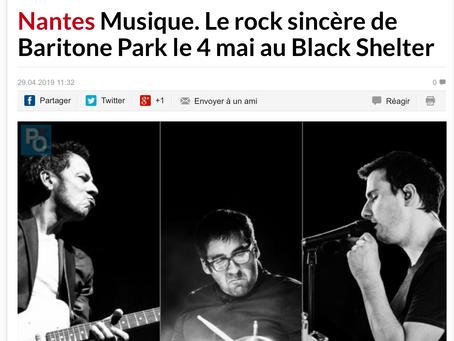 BARITONE PARK - Article Presse Ocean
