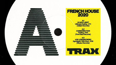 TRAX sort sa compilation vinyle