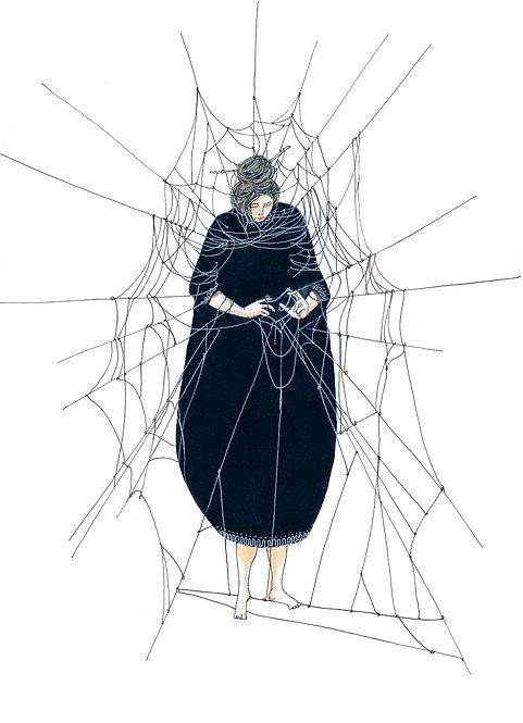 עכבישה