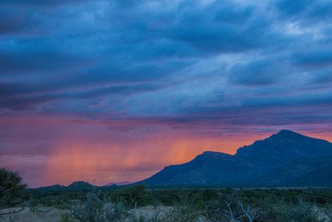 Rain in Namibia