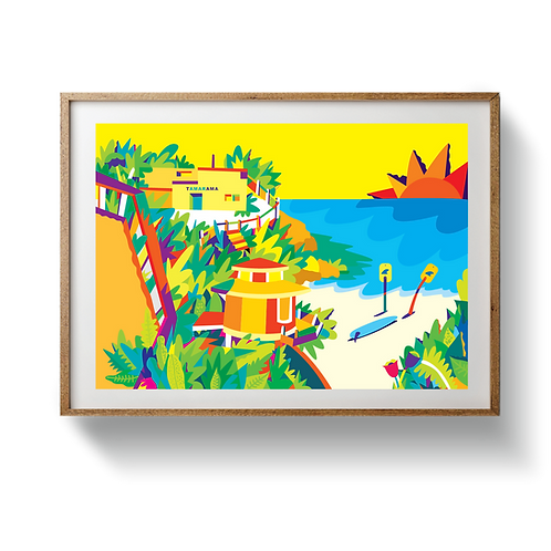 Tamarama Beach - UNFRAMED