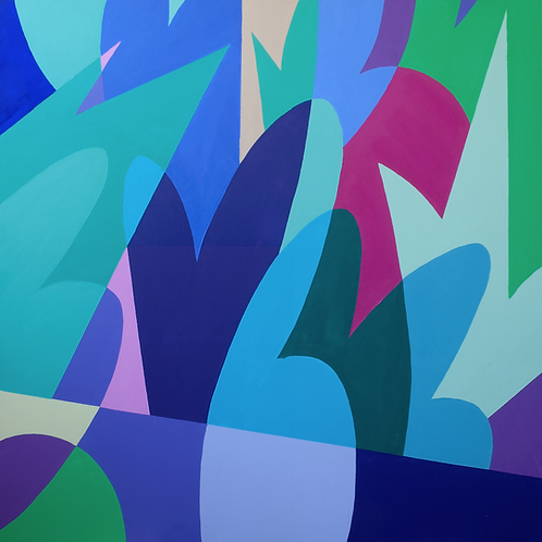 Spring - 83(W) x 83cm(H)