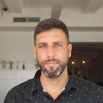 Portrait of the artist Bruno Mota