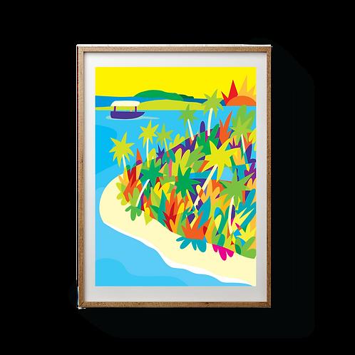 Aitutaki - UNFRAMED