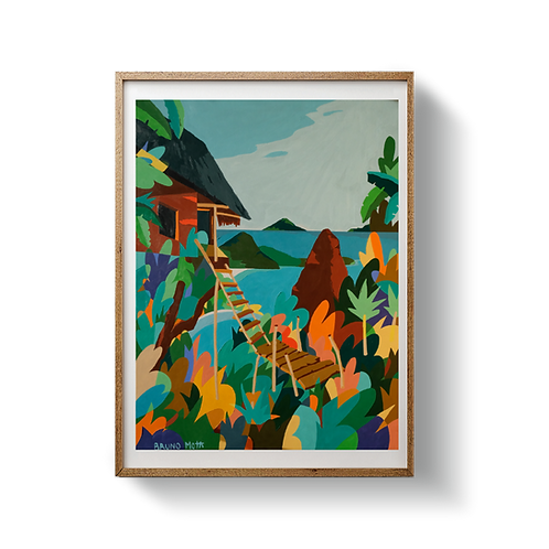 Treehouse in Paradise - UNFRAMED