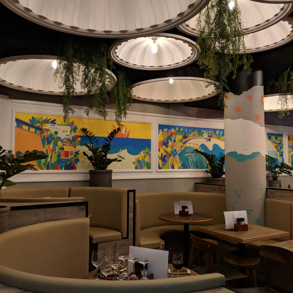 Restaurant Bondi Walls