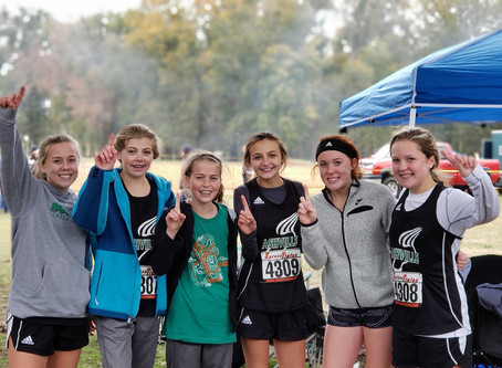 Cross Country Girls Headed to State Competition