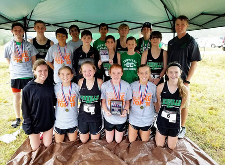Cross Country Dominates County Invitational
