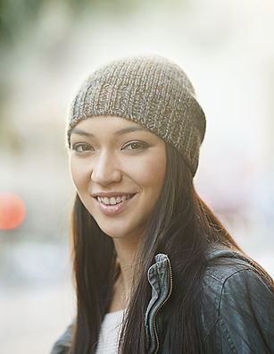 Young Woman with Beanie