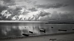Grey boats