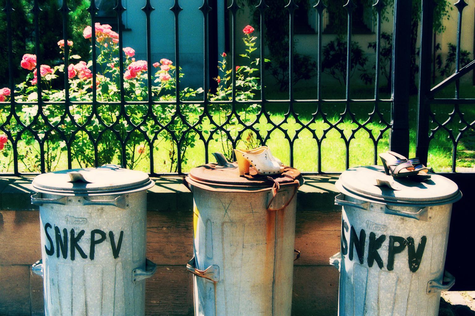 Prague trash