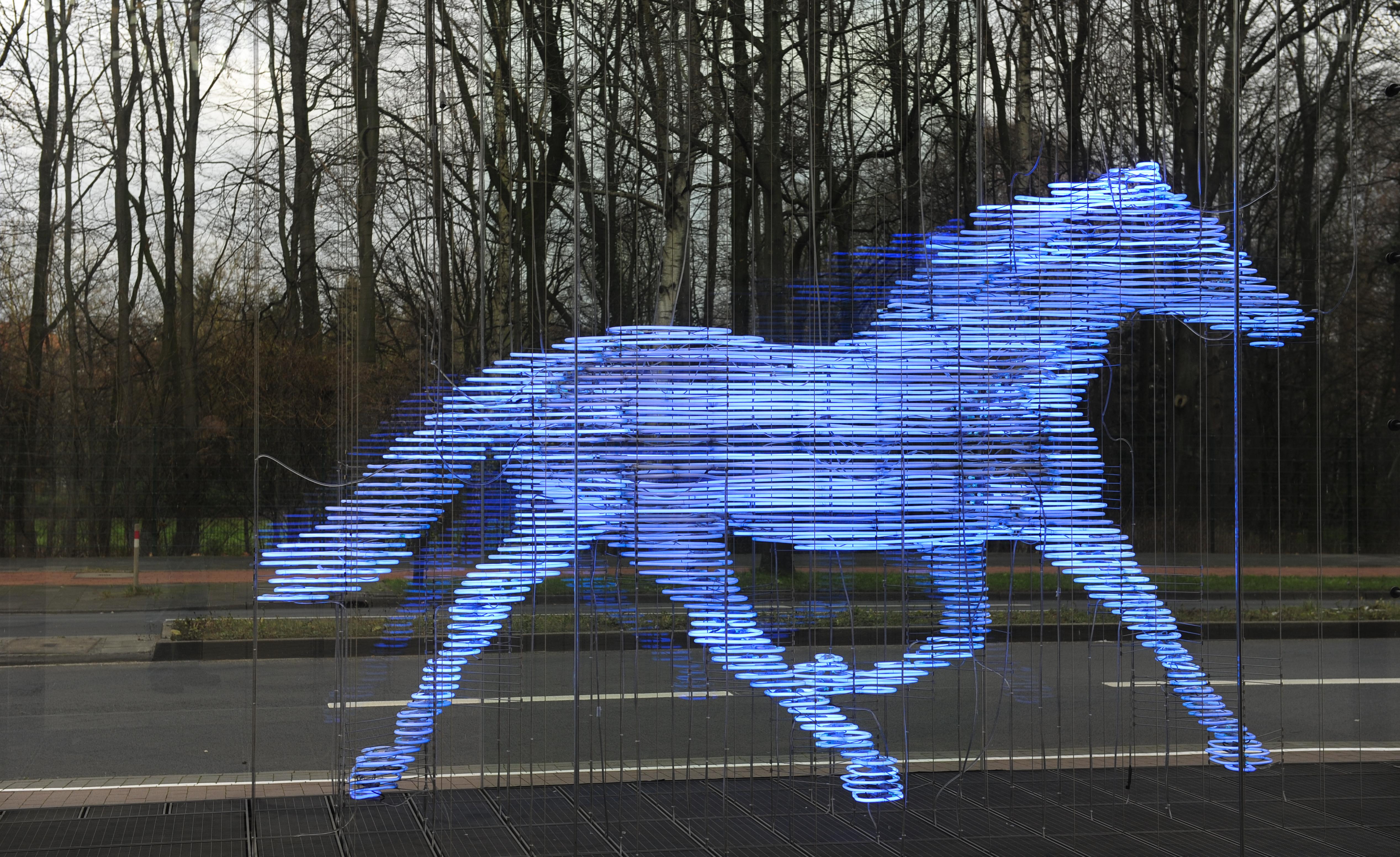 Pferd vor LVM Versicherung MS ©Johannes