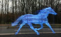 Pferd vor LVM Versicherung MS ©Johannes Ratermann