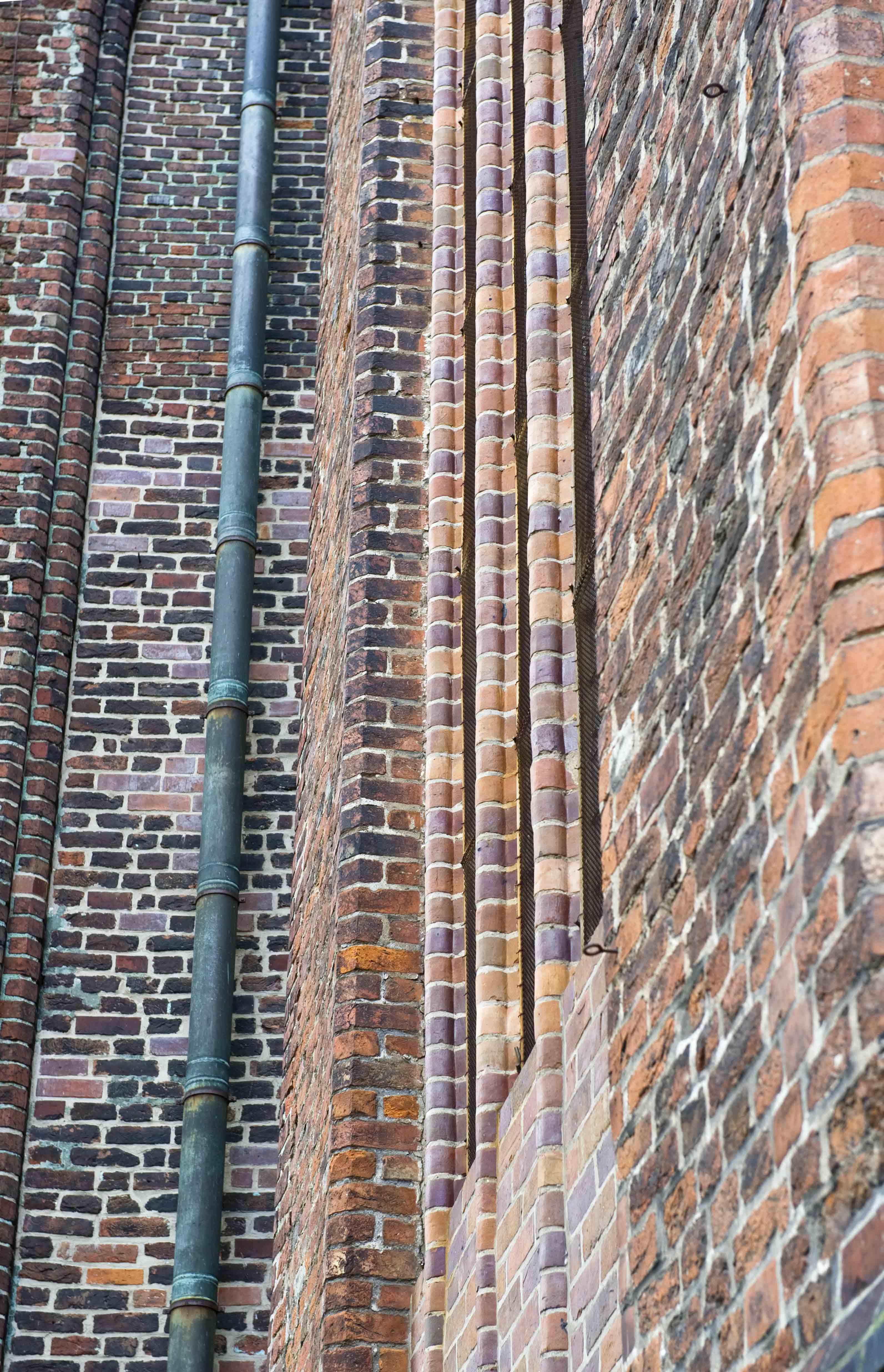 Backsteine in Stralsund, DE ©Johannes Ratermann