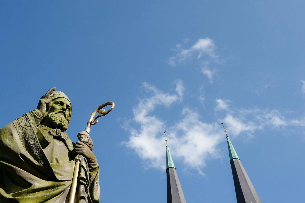 Der Heilige Liudger, Billerbeck ©Johannes Ratermann
