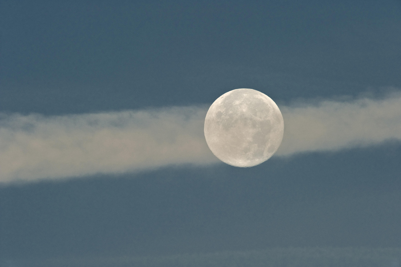 Mond mit weißem Kajal-Strich ©Johannes Ratermann