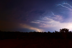 Lightning in ZA ©Johannes Ratermann