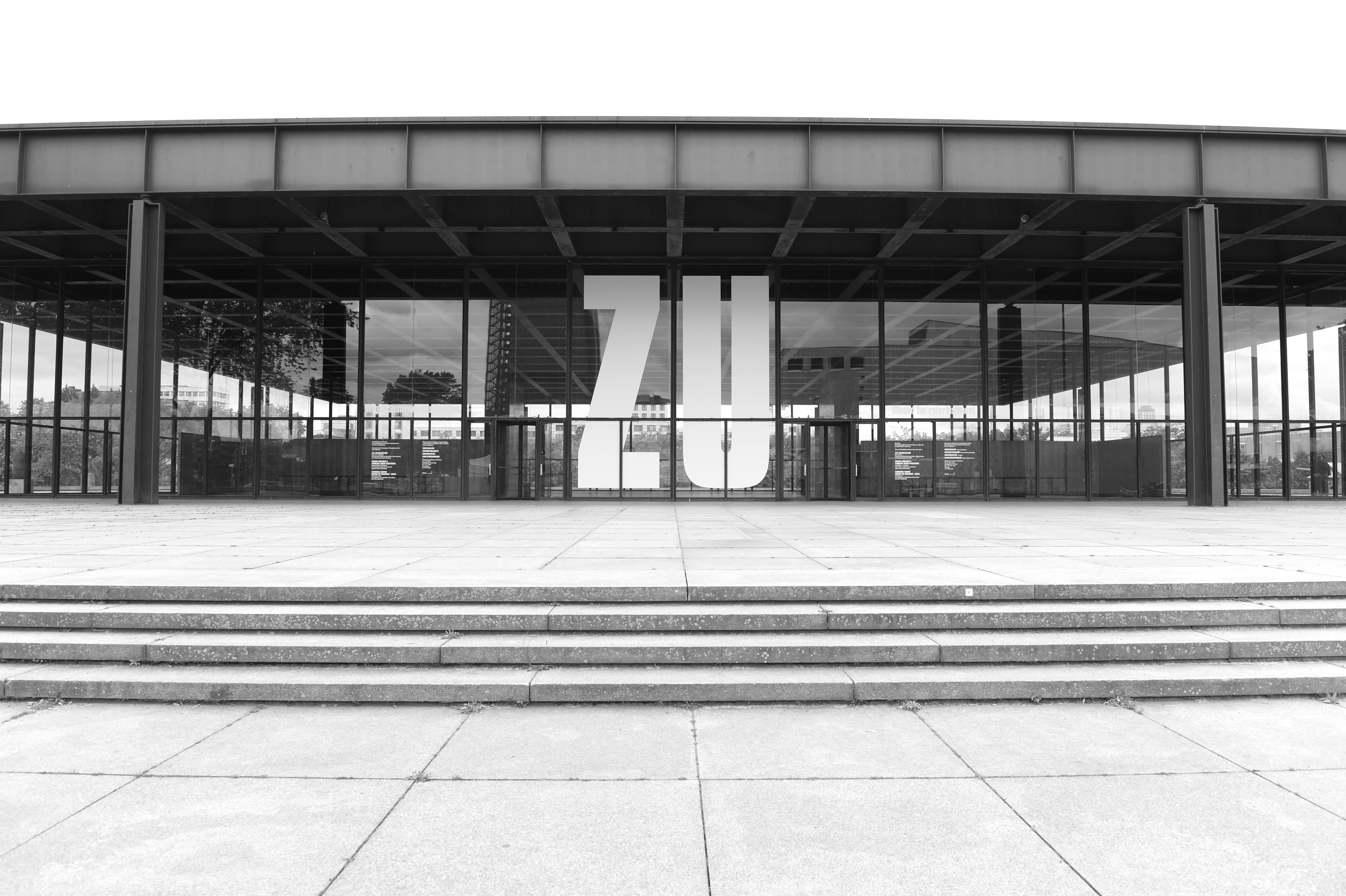 Neue Nationalgalerie Berlin, Ludwig Mies
