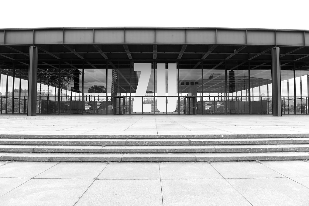 Neue Nationalgalerie Berlin, Ludwig Mies van der Rohe - Be open ©Johannes Ratermann