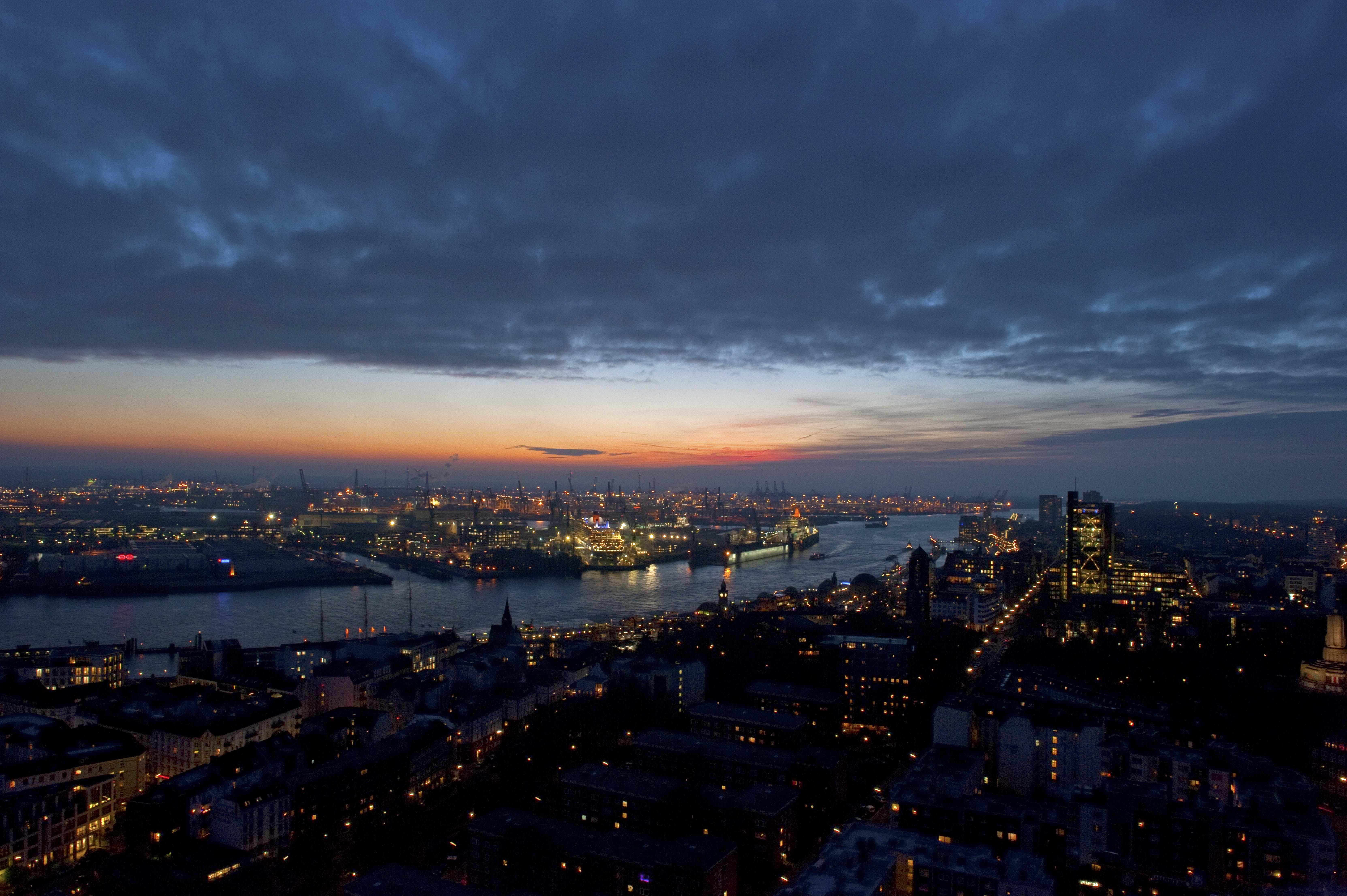 Hamburger Hafen, DE ©Johannes Ratermann