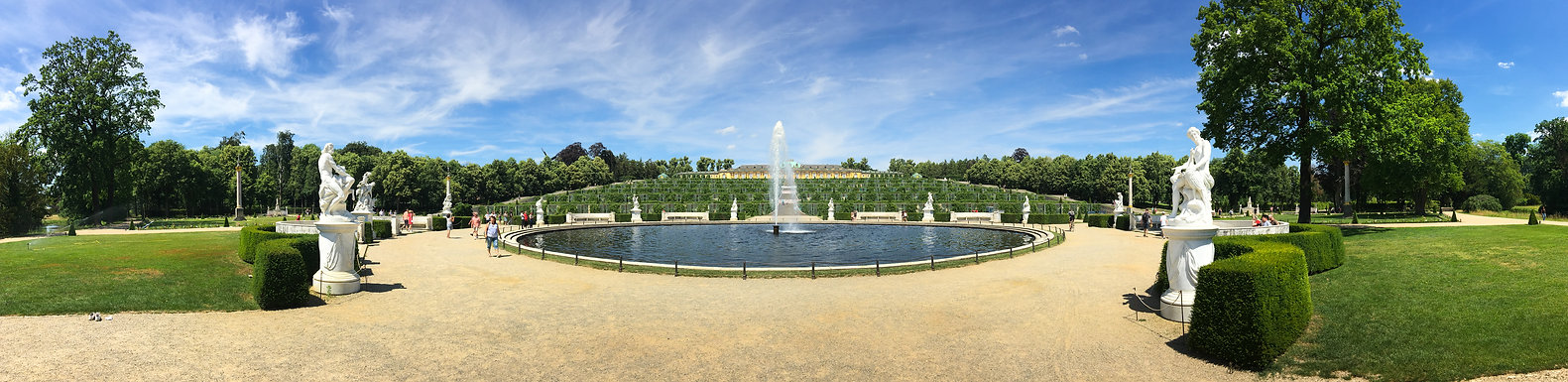Schloss Sanssouci ©Johannes Ratermann