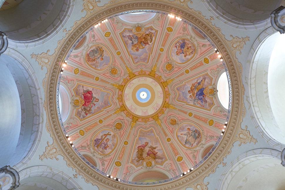 Kuppel der Liebfrauenkirche, Dresden ©Johannes Ratermann