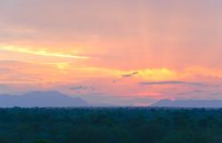 Drakensberge, Draken Mountains, Sonnenuntergang ©Johannes Ratermann
