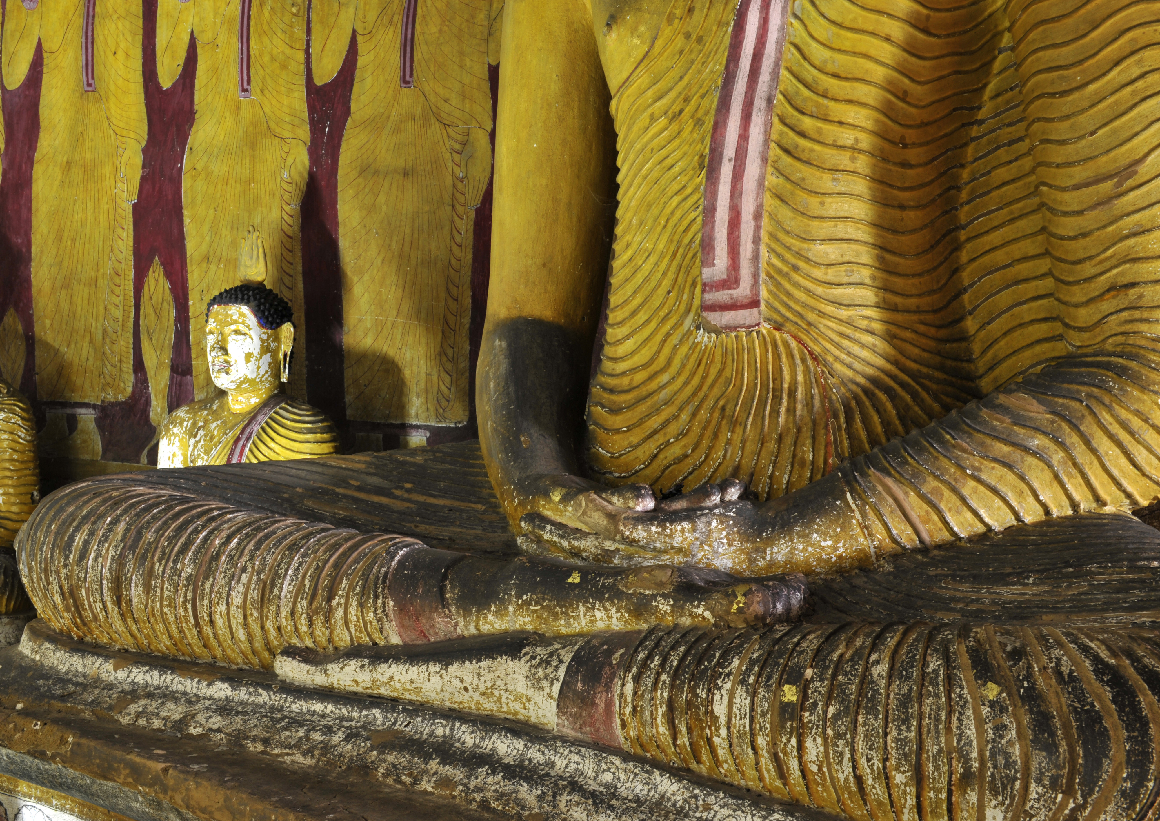 Buddha in Dambulla, LK ©Johannes Ratermann