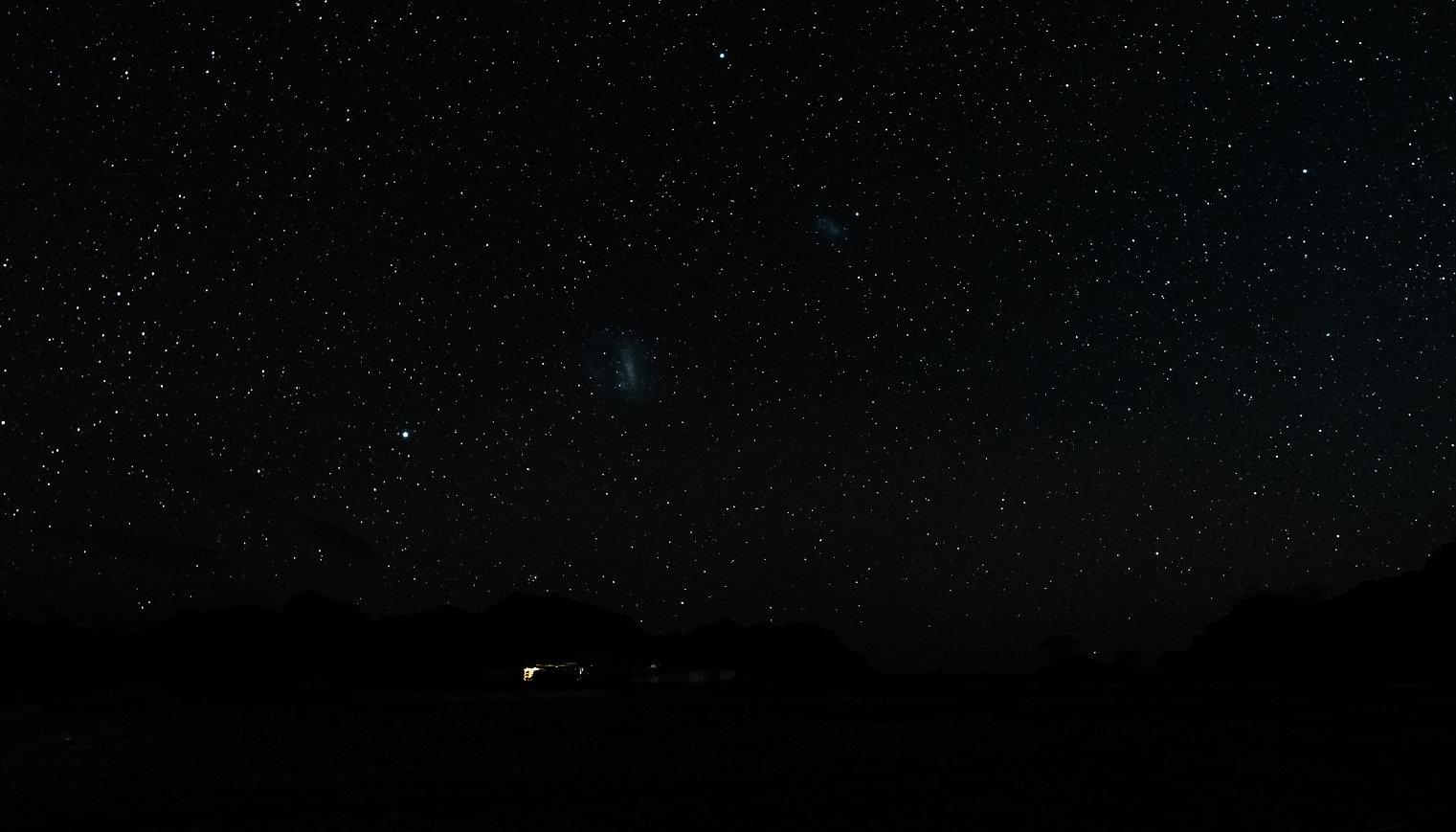 Magellansche Wolken, Hoanib ©Johannes Ratermann