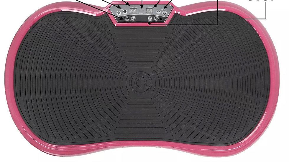 Vibration Plate Whole Body Exercise Trainer Massager Machine Platform PINK