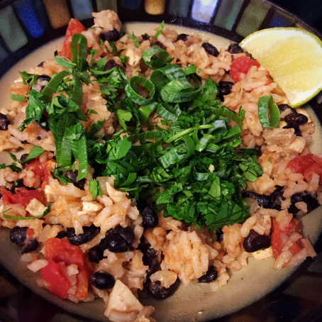 Chicken, Rice and Beans