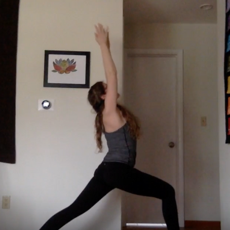 15 Minute Mama Flow: Warrior One