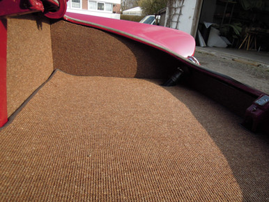Teppich neu eingelegt
