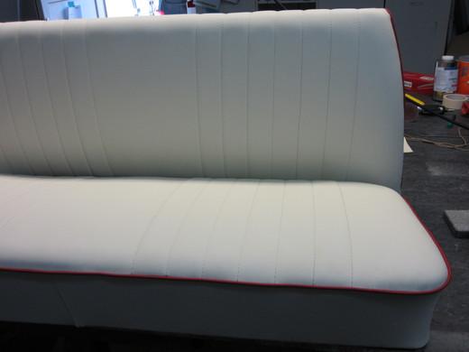 Sitzbank passend zum Sitz