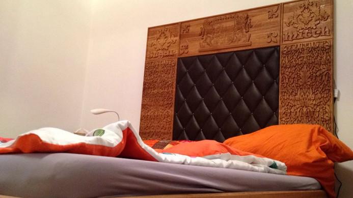 Bettkopfteil individuell gestaltet