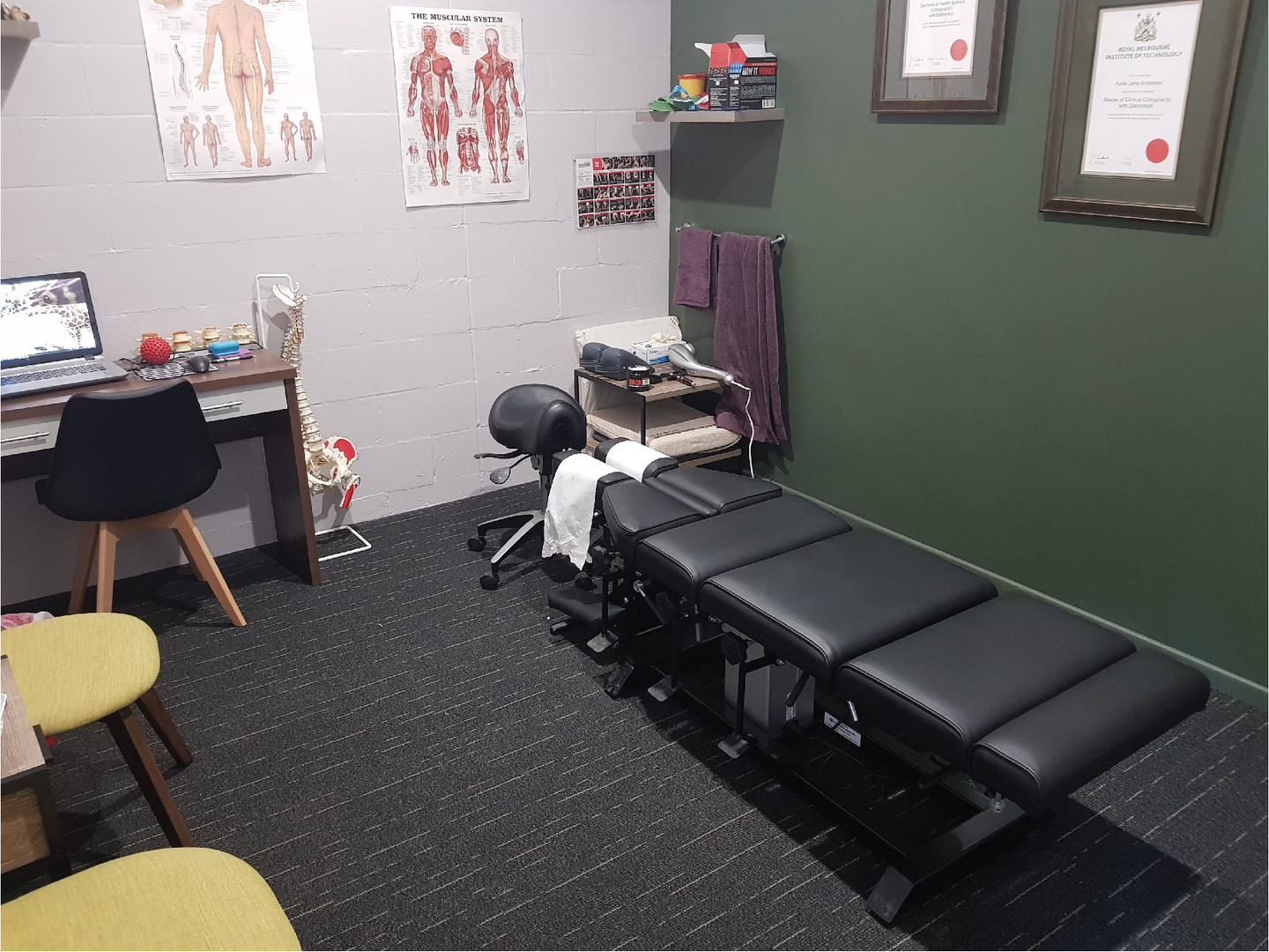 Mackay Chiropractor Anderson Family Chiropractic Treatment Room