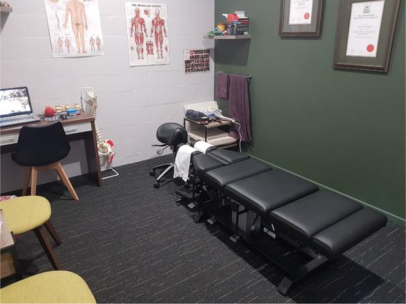 Mackay Chiropractor Anderson Family Chiropractic Treatment Room