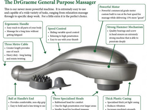 Dr Graeme General Purpose Massager