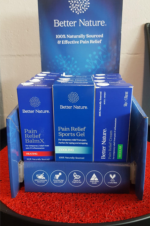 Better Nature Pain Relief Balms