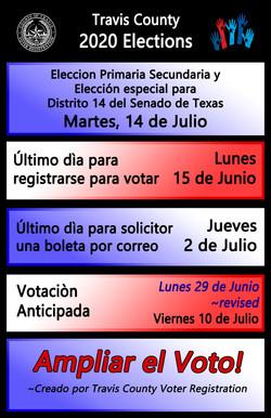 Span Elections Calendar - Seals