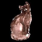 Watercolor Cat 1