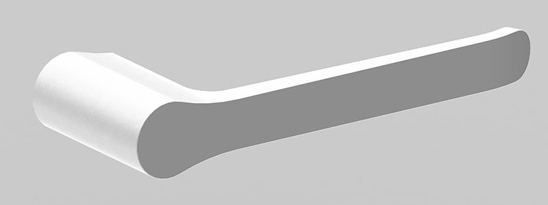 Bassini Toilet Roll Holder White/Chrome