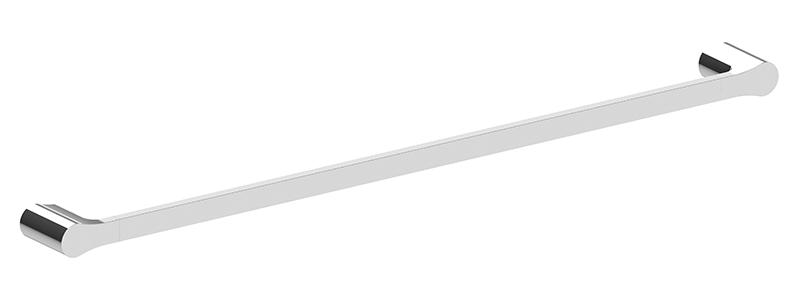 Bassini 750mm Single Towel Rail Chrome
