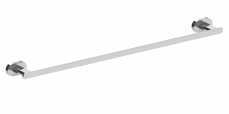 Lento 600mm Single Towel Rail Chrome