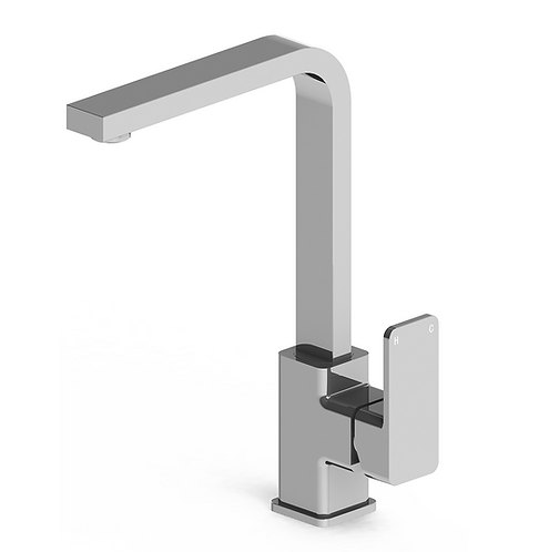 Rondo Solid Sink Mixer Chrome