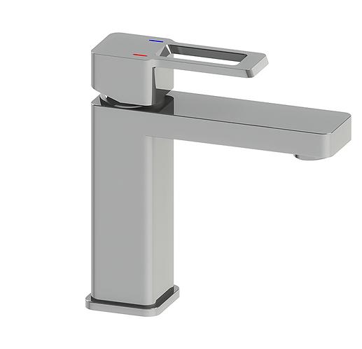 Rondo Loop Basin Mixer Chrome