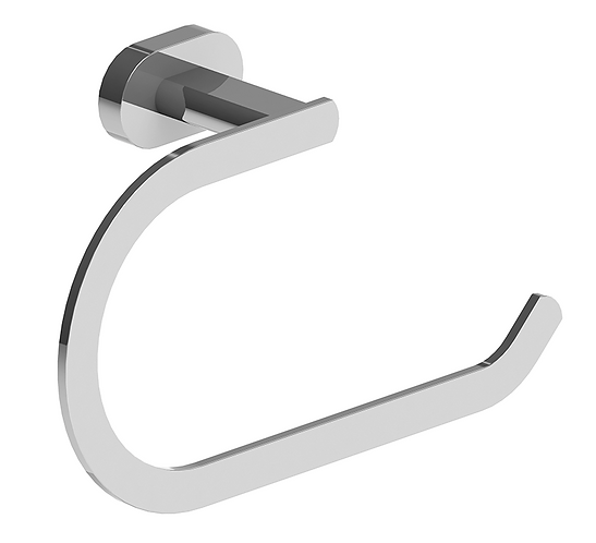 Lento Towel Ring Chrome