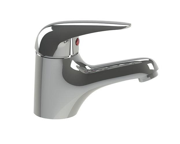 Meno Fixed Basin Mixer Chrome