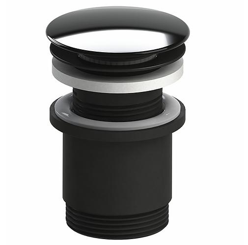 40mm Pop Up Plug & Waste Black