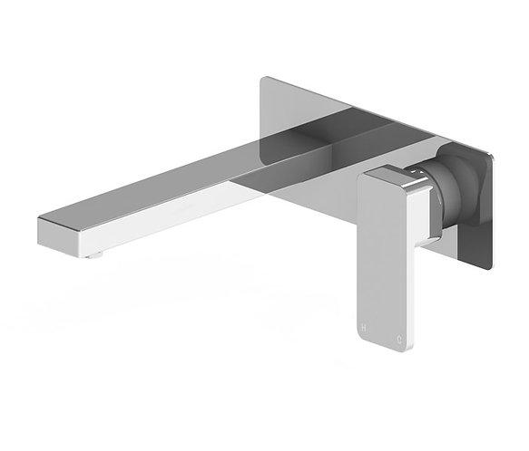 Rondo Solid Wall Basin Mixer Chrome